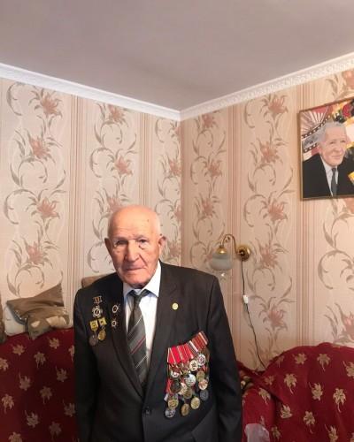 96 лет исполнилось ветерану Великой Отечественной войны, Кавалеру ордена Отечественной войны II степени, активному общественному деятелю  Петру Леонтьевичу Леонтьеву.