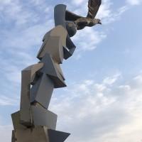 Скульптура «Ступени к победе»