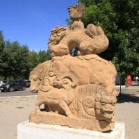 Скульптура «Лунный календарь»