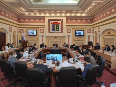 Депутаты Элистинского городского Собрания шестого созыва приняли участие в 25 очередном заседании