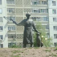 Скульптура «Хозяин степи»