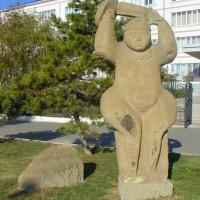 Скульптура «Степная Ника»