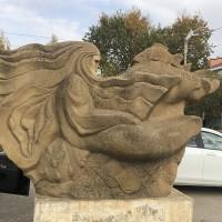 Скульптура «Каспий»