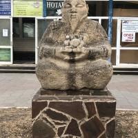 Скульптура «Теегин эзн» (Хозяин степи)