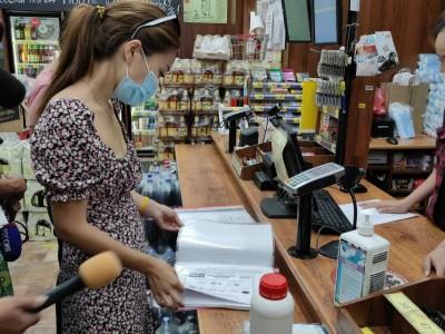 Продолжается контроль за соблюдением санитарных правил в торговых объектах и предприятиях общественного питания степной столицы