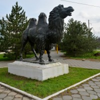 Скульптура «Верблюд – хозяин степи»