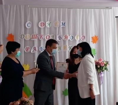 В Элисте поздравили с профессиональным праздником работников дошкольного образования