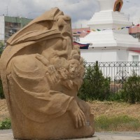 Скульптура «Букет степи»