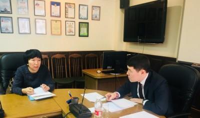 Сегодня Глава Администрации города Элисты Окон Нохашкиев провел очередной прием граждан по личным вопросам.