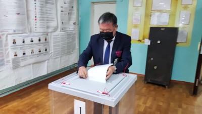 Продолжается голосование за кандидатов в Государственную Думу