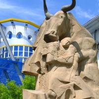 Скульптура «Рождение в год Быка»