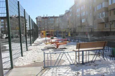 Глава Калмыкии проверил ход работ по благоустройству города