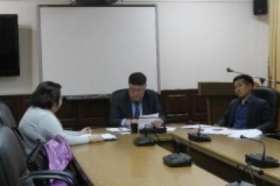 Обращения горожан сегодня рассматривает заместитель Главы Администрации Истя Мушаев