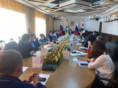 Вопросы взаимодействия Администрации и подведомственных учреждений города Элисты с Центром Управления регионом