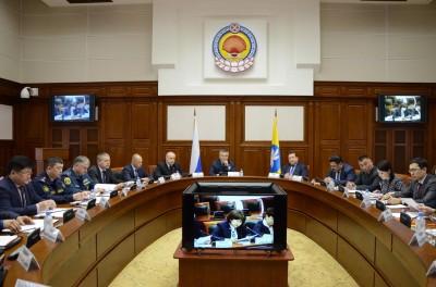 Глава городской администрации Окон Нохашкиев принял участие в заседании республиканской Антинаркотической комиссии, которое состоялось сегодня в Доме Правительства РК, под председательством Главы региона Алексея Орлова.
