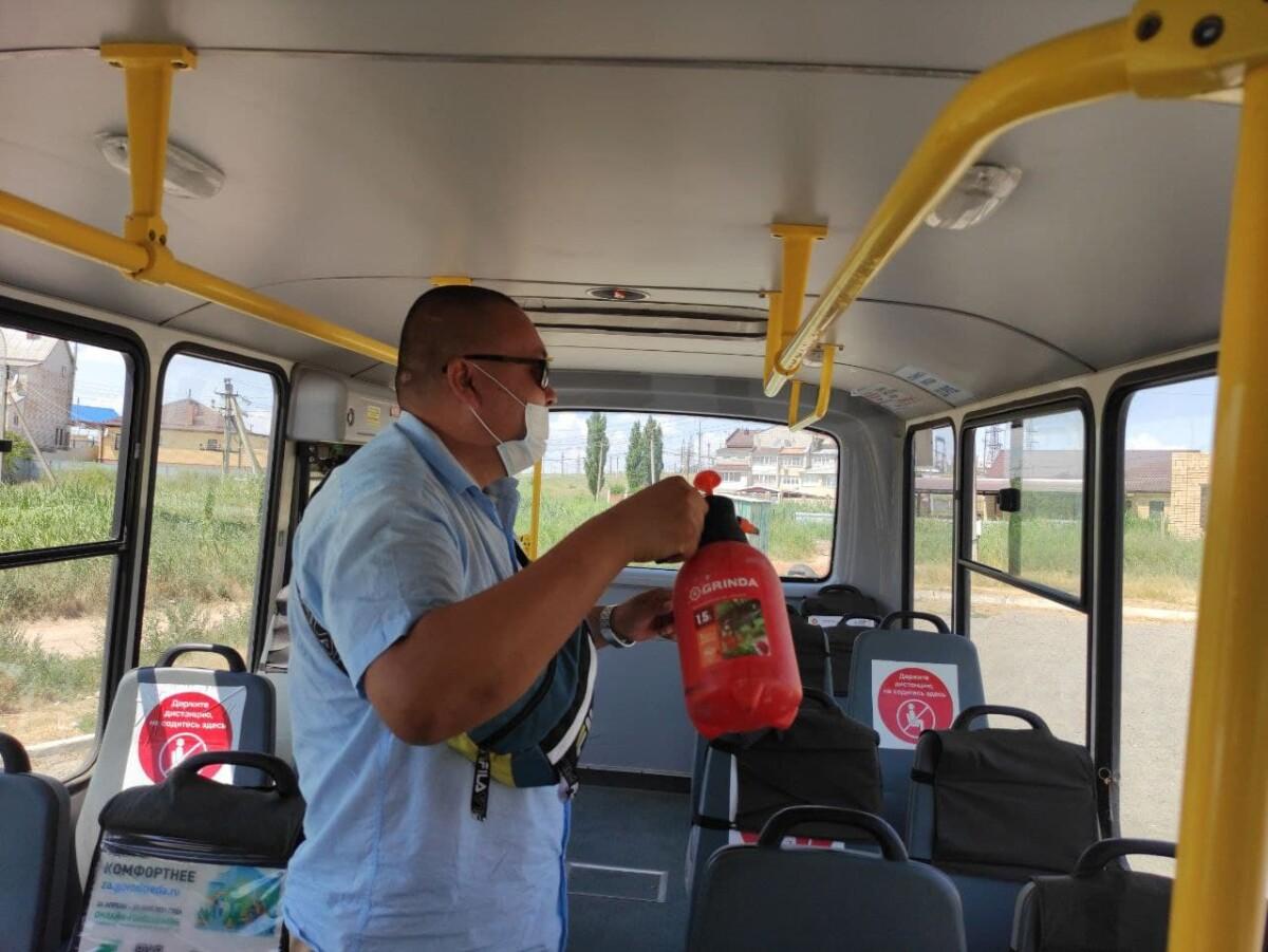 Эпидемиологическая безопасность на муниципальном общественном транспорте - на контроле городских властей