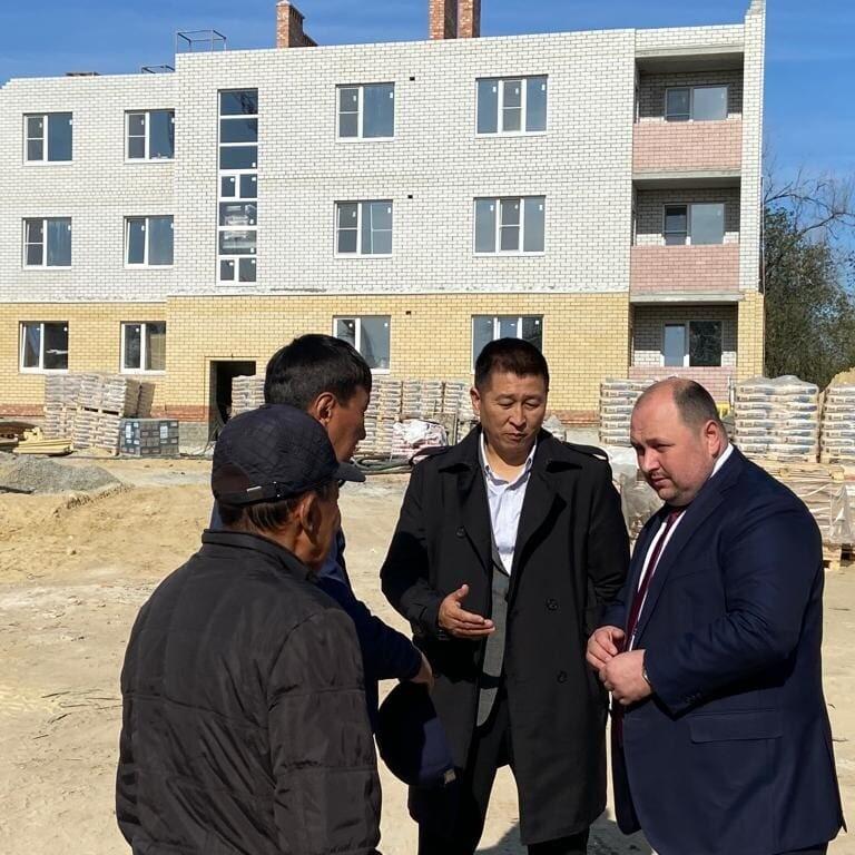 Строительство 44-квартирного жилого дома для собственников аварийного жилья