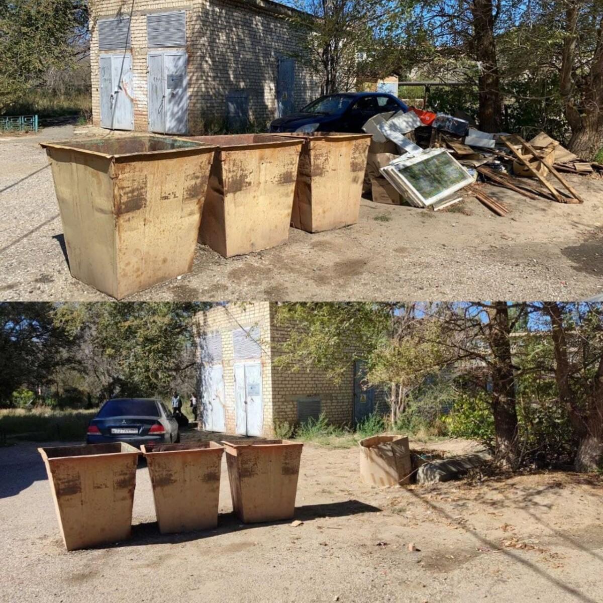 Продолжается кампания по приведению в нормативное соответствие площадок для сбора твердых коммунальных отходов «Чистый четверг»