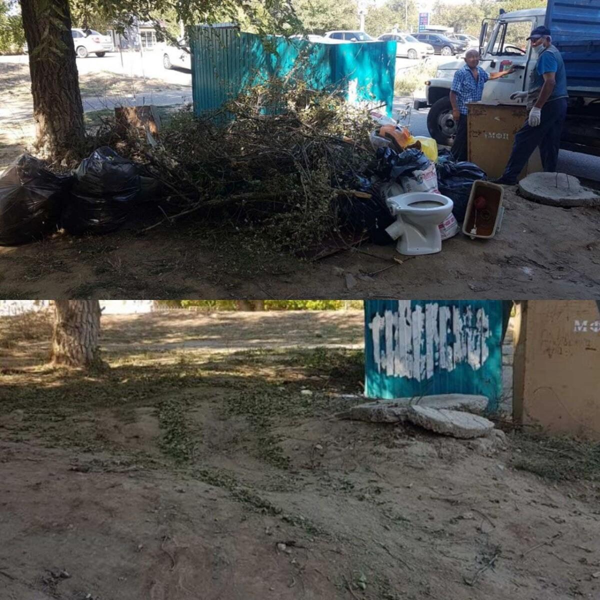 """Продолжается городская акция """"Чистый четверг"""" по приведению в нормативное соответствие площадок для сбора твердых коммунальных отходов"""