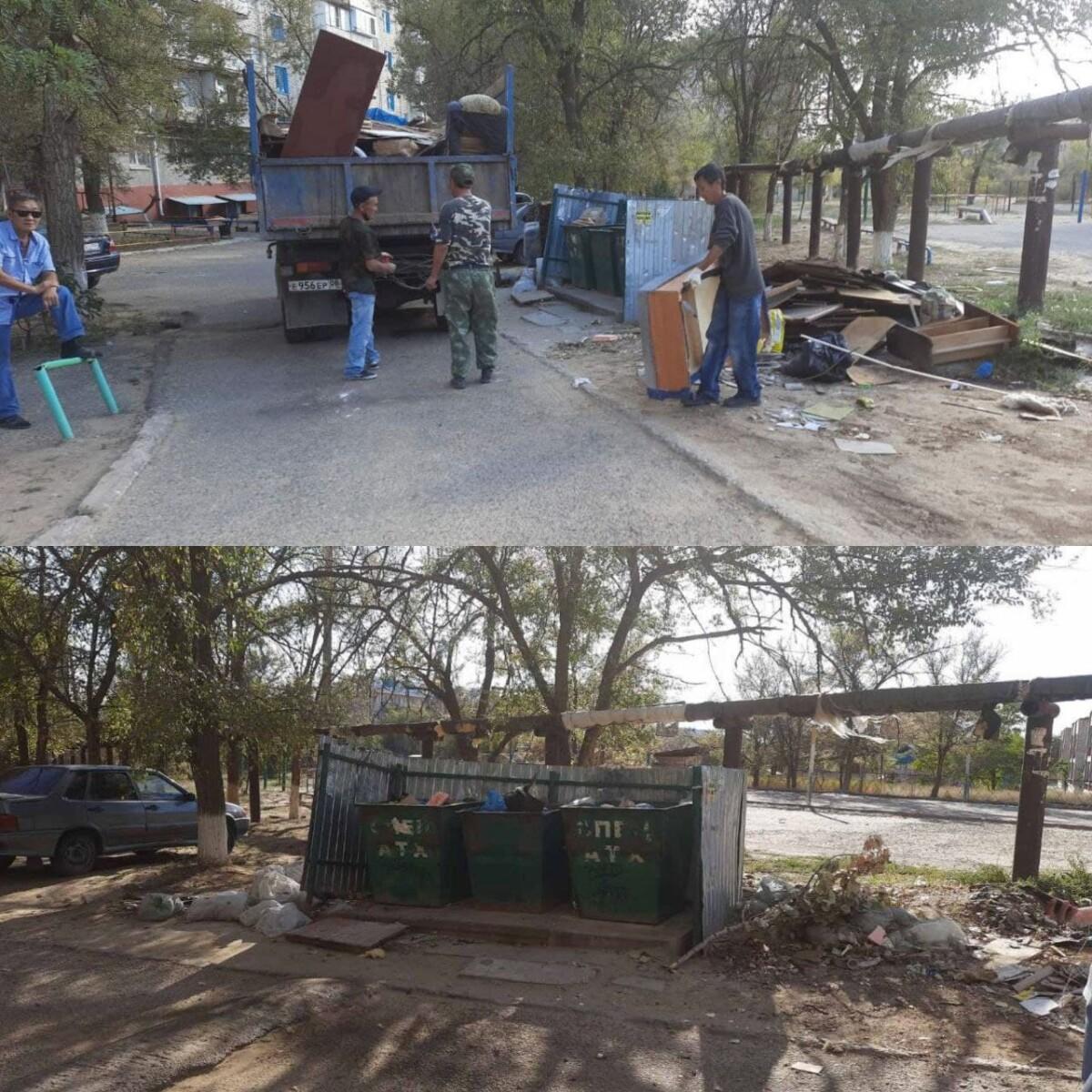 Продолжается кампания по приведению в нормативное соответствие площадок для сбора твердых коммунальных отходов «Чистый четверг».